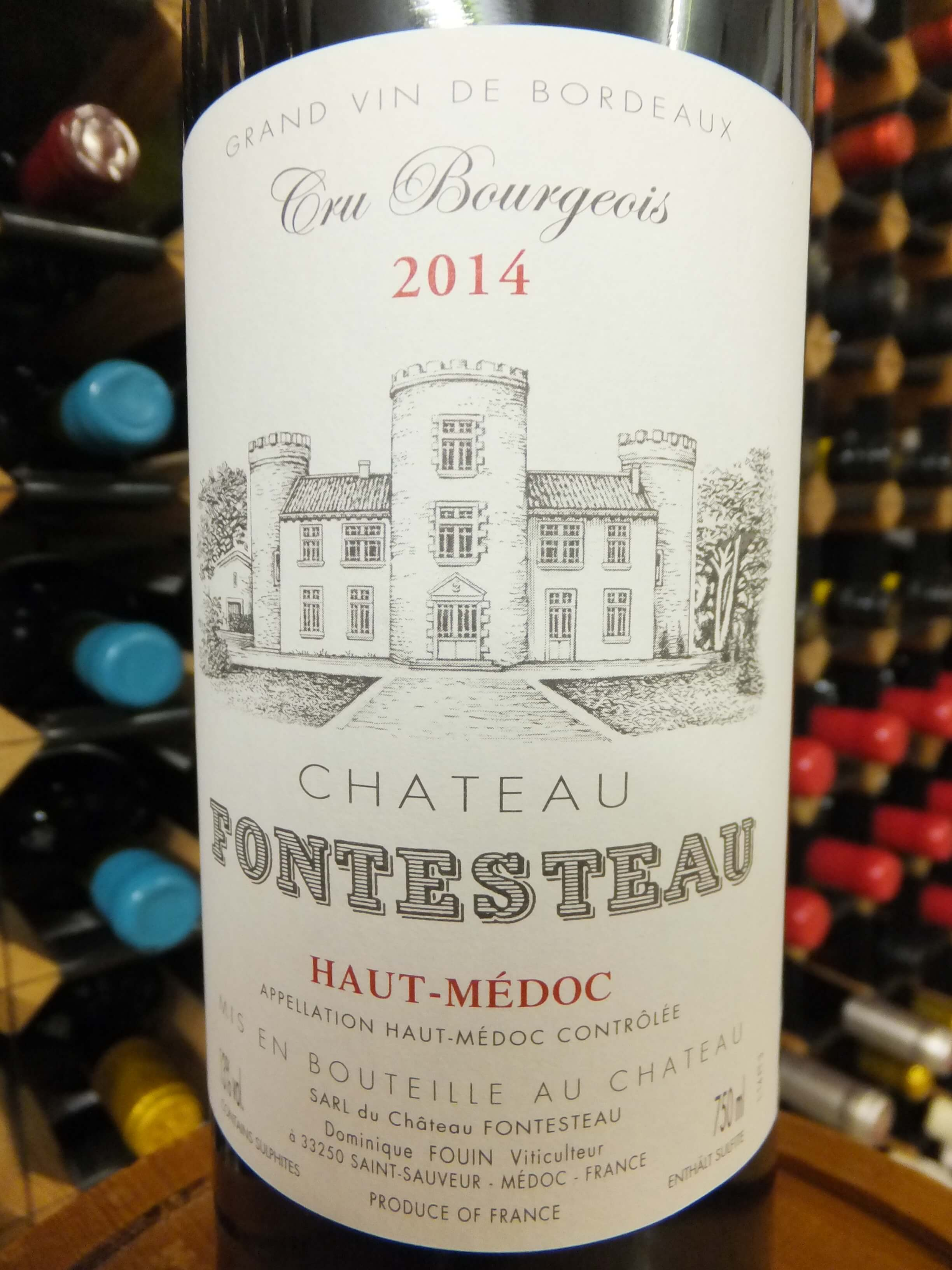 Chateau Fontesteau 2014
