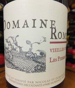 Beaujolais Vieilles Vignes Les Pierres Dorees 2017, Domaine Romy