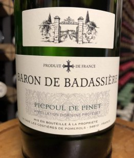 Baron de Badassière Picpoul de Pinet 2019
