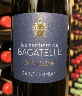Clos Bagatelle 'À L'Origine', Saint-Chinian Rouge 2018