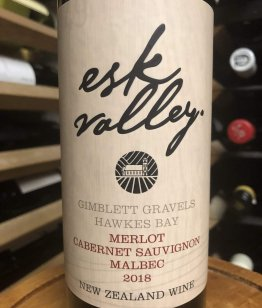 Esk Valley Gimblett Gravels Merlot/Cabernet Sauvignon/Malbec 2018