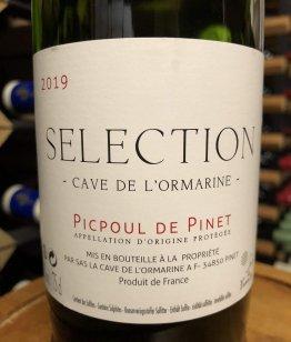 Picpoul de Pinet Selection 2019, Cave de L'Ormarine