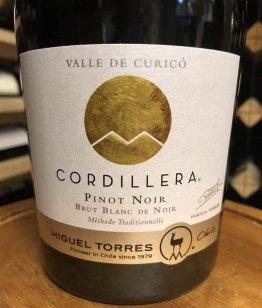 Cordillera Brut Blanc de Noir Sparkling NV, Miguel Torres