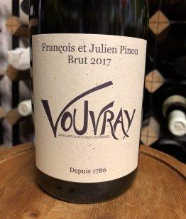Francois et Julien Pinon Vouvray Petillant Brut 2017